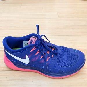 NIKE Free 5.0 sneakers running tennis shoes, 10.